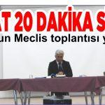 3 SAAT 20 DAKİKA SÜRDÜ En uzun Meclis toplantısı yapıldı