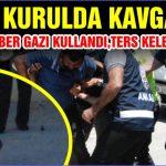 GENEL KURULDA KAVGA ÇIKTI POLİSLER BİBER GAZI KULLANDI, TERS KELEPÇE VURDU